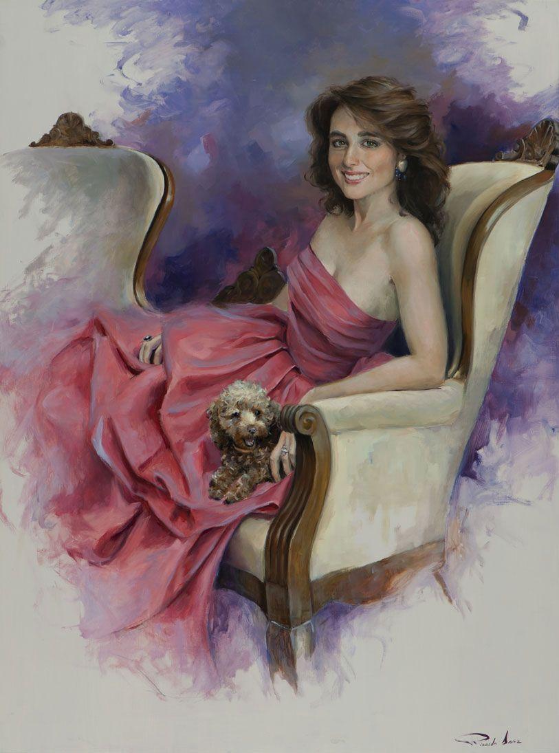 Ricardo-Sanz-Retrato-de-Paloma-Segrelles-130X97-cms