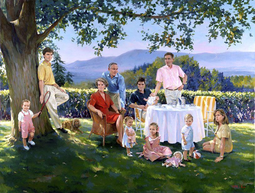 Ricardo-Sanz-Retrato-de-la-familia-Fernandez-Ordonez-175X230-cms