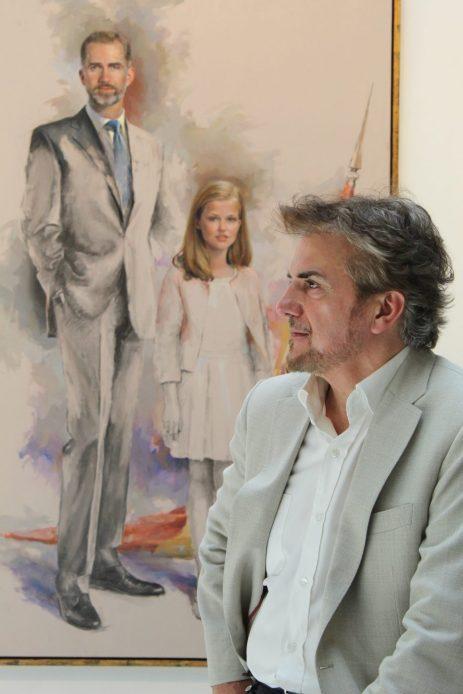 Ricardo Sanz en el Centro Cultural Casa de Vacas